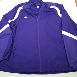 Adidas Womens 2XL Purple Jacket